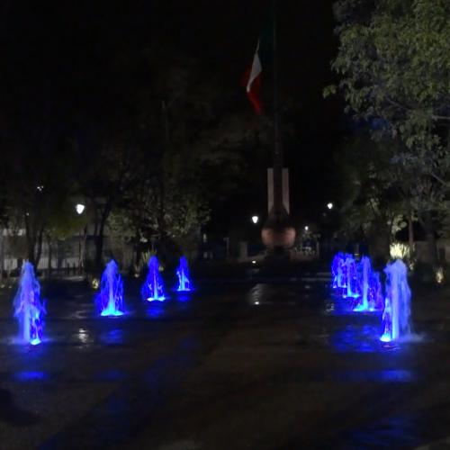 Fuente Plaza del Estudiante - Querétaro